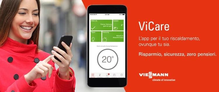 App ViCare per i sistemi di riscaldamento