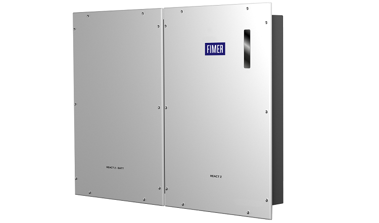 REACT 2: inverter solari PV + Storage