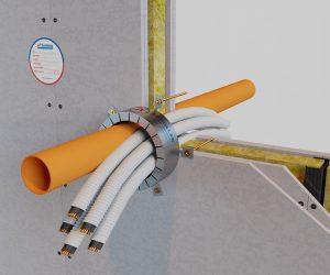Collari antifuoco AF COLLAR per passaggi di tubazioni combustibili