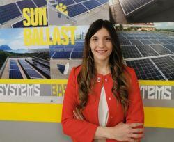 Giovanna Salemi, responsabile marketing e commerciale Sunballast