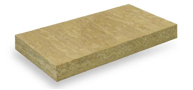 Hardrock Energy Plus: pannello rigido in lana di roccia non rivestito