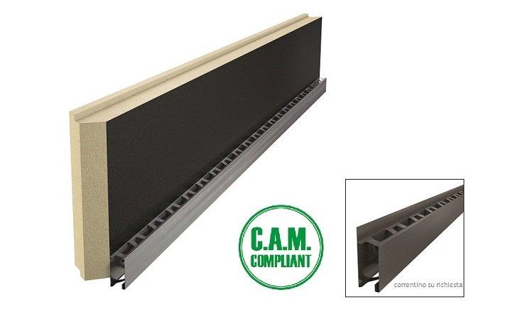 Isotec® Parete Black: sistema termoisolante per facciate ventilate