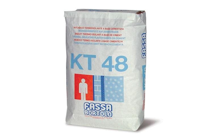 Intonaco termoisolante KT 48