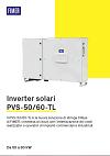 Scheda tecnica PVS-50/60-TL