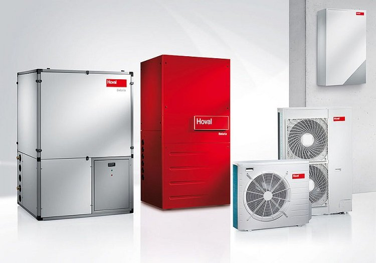 Pompa di calore aria-acqua Belaria®