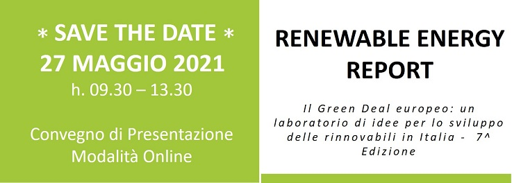 Renewable Energy Report 2021