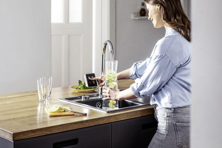rubinetto smart Re.source di Rehau