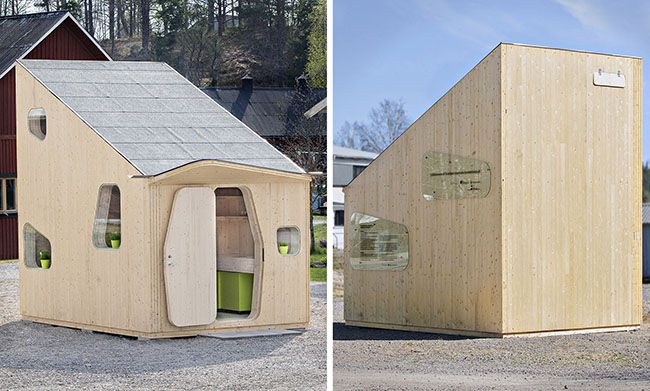Smart Student Unit: la Tiny house in legno da 10 mq