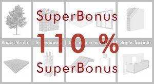 Superbonus 110%: ecobonus e sismabonus potenziati