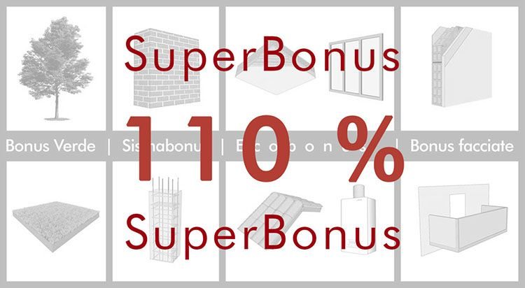 Superbonus: ecobonus e sismabonus potenziati al 110%
