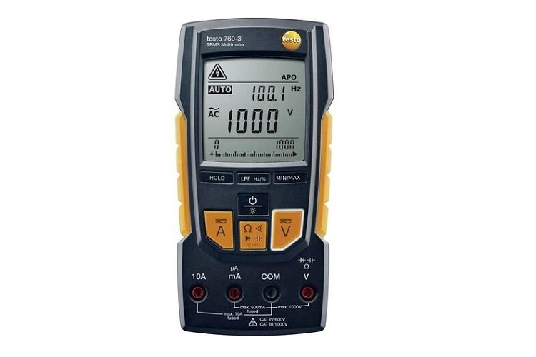 Multimetro digitale fino a 1.000 V TESTO 760-3