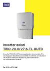 Scheda tecnica TRIO-20.0/27.6-TL