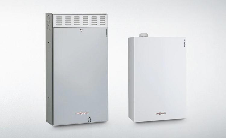 Vitodens 100-E: caldaia a gas a condensazione
