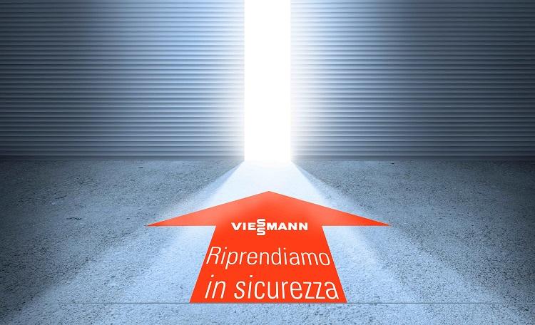 """""""Riprendiamo in sicurezza"""": il progetto integrato di Viessmann Italia"""