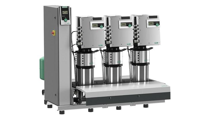 Wilo-SiBoost Smart Helix EXCEL: sistema di pressurizzazione idrica ad alta efficienza