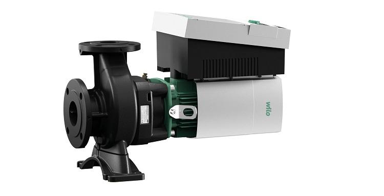 Wilo-Stratos GIGA-B: elettropompe monoblocco con motore a magneti permanenti EC