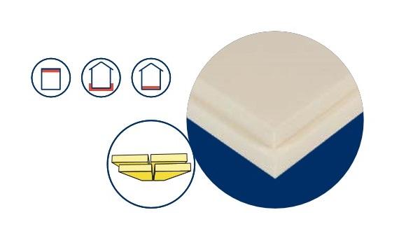 Pannello di polistirene estruso della linea URSA XPS