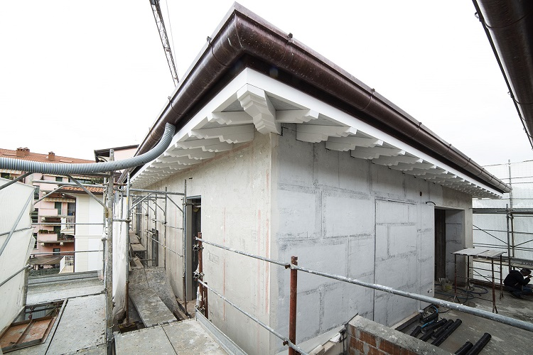 Isolamento termico Aeropan per abitazioni di lusso a Forte dei Marmi