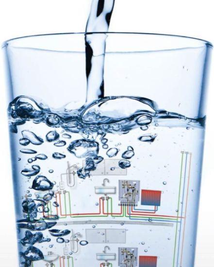 Igiene dell'acqua: il sistema modulare Aquanova di Oventrop si evita la proliferazione di batteri