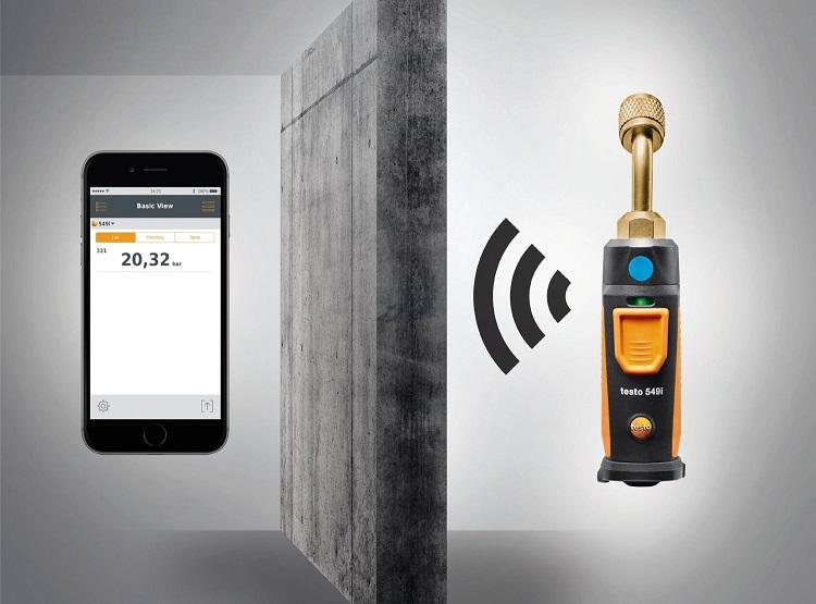 testo 549i: manometro per alte pressioni Bluetooth