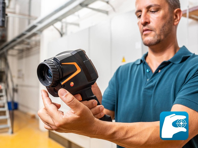 testo 883: la termocamera dall'eccellente qualità d'immagine