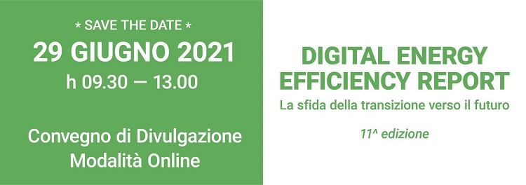 Digital Energy Efficiency Report: la sfida della transizione verso il futuro
