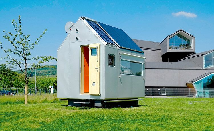 Diogene: la Tiny house autosufficiente di Renzo Piano