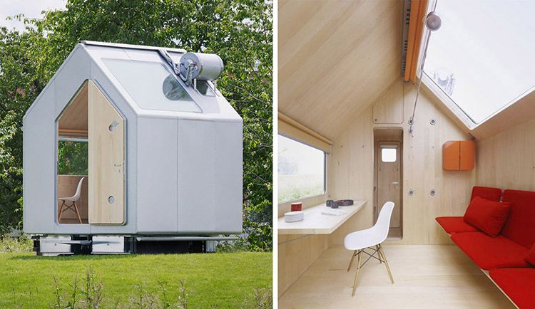 Diogene: la tiny house firmata da Renzo Piano