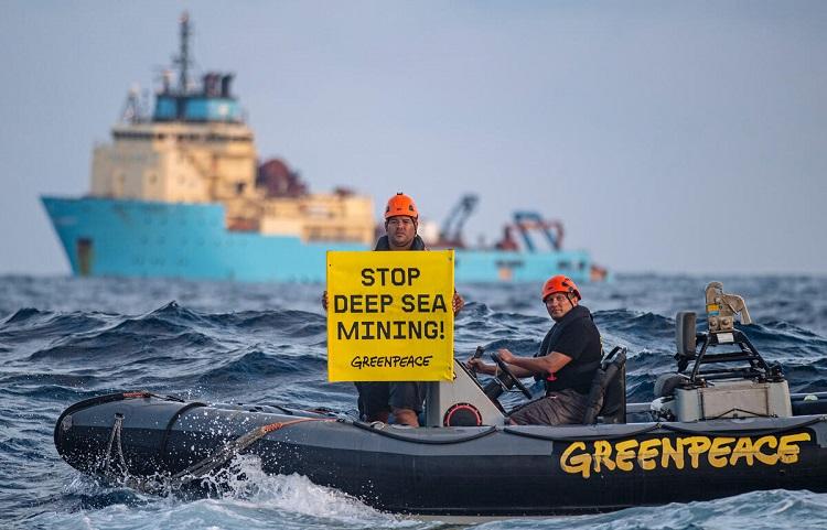 Greenpeace per la difesa di Mare e Oceani