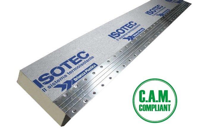 Sistema di isolamento termico per coperture e facciate non ventilate ISOTEC LINEA