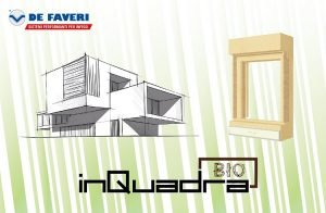 Sistema monoblocco riciclato e riciclabile InQuadra-Bio