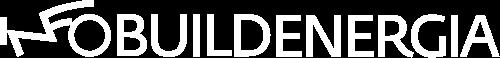 logo infobuildenergia bianco