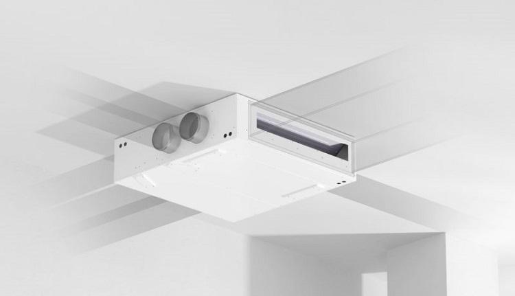 HRA-I PLUS: pompa di calore per il comfort termico e la qualità dell'aria
