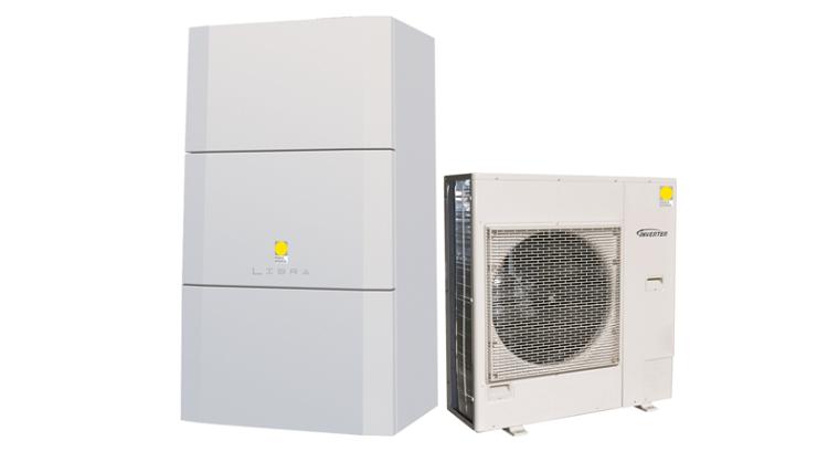 Libra Hybrid: pompa di calore per il riscaldamento e il raffrescamento
