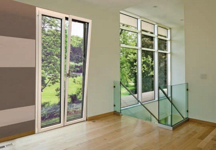 Finestre e porte in alluminio a battente