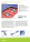 Brochure delsistema di fissaggio per tetti a tegola