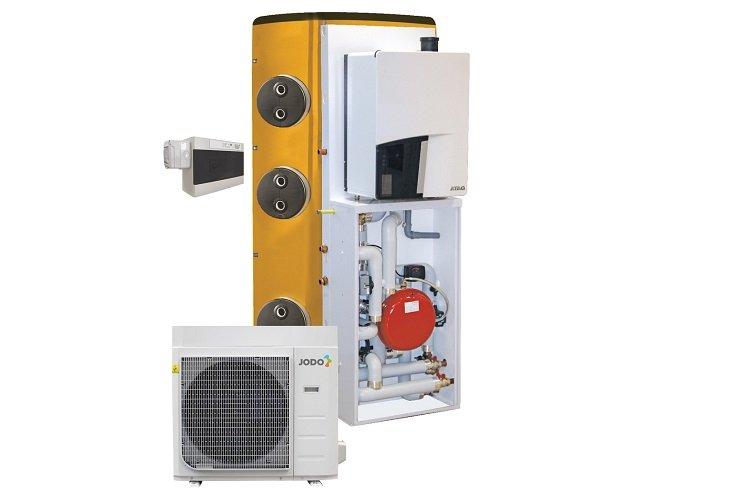 Sistema ibrido multienergia JODO QHP-A2