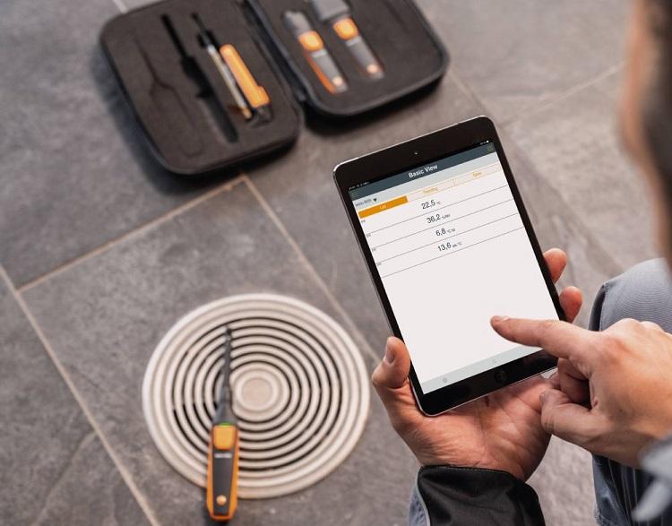 Smart Probes kit ventilazione per la misura di temperatura dell'aria e dell'umidità