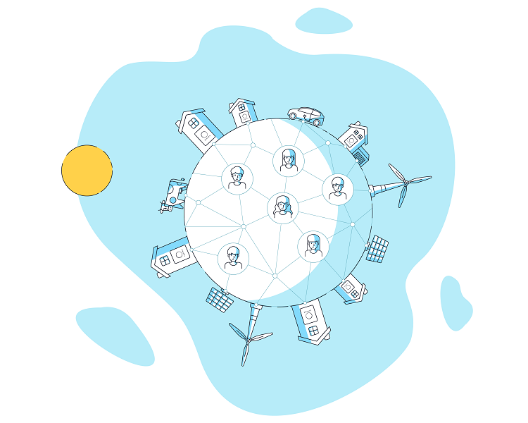 sonnenCommunity: rete di condivisione di energia pulita