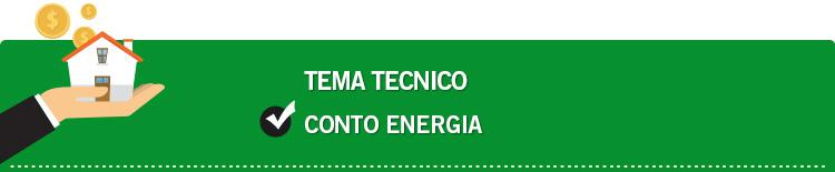Tema tecnico: Conto energia