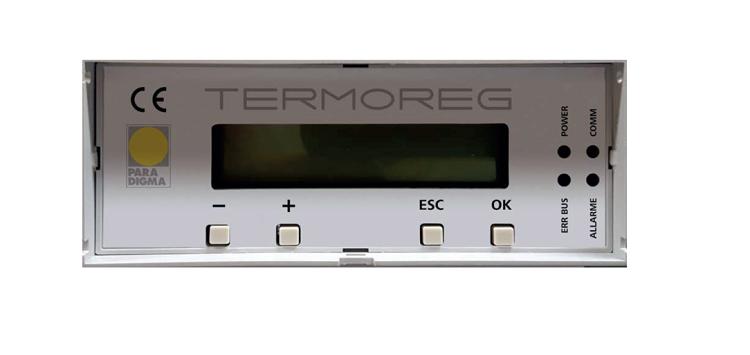 Sistema di regolazione per centrale termica Termoreg