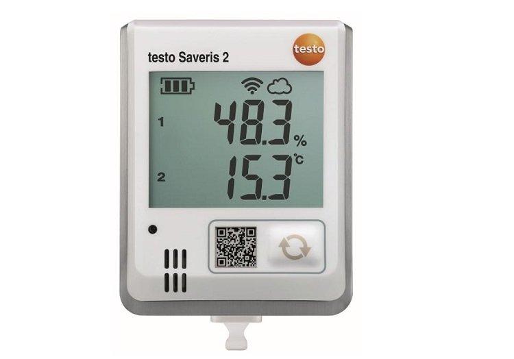 Sistema di monitoraggio per ambienti civili e industriali Testo SAVERIS 2