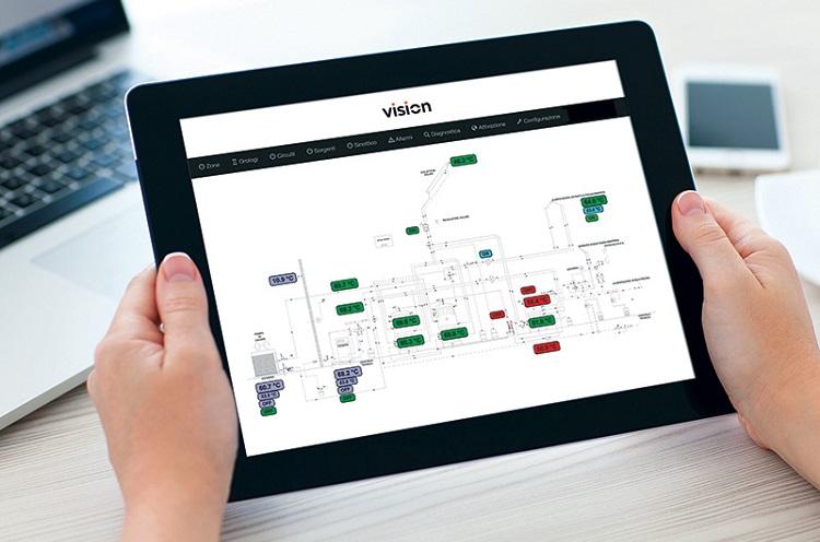 VISION – Controllo e gestione di generatori e pompe di calore