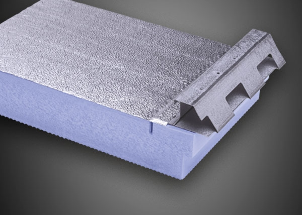 Lastra strutturale per l'isolamento termico X-FOAM® ALU ROOF