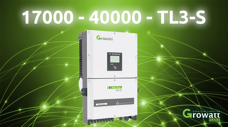 Inverter trifase Growatt 17000~40000 TL3-S