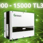 Inverter trifase Growatt 3000~15000 TL3-S
