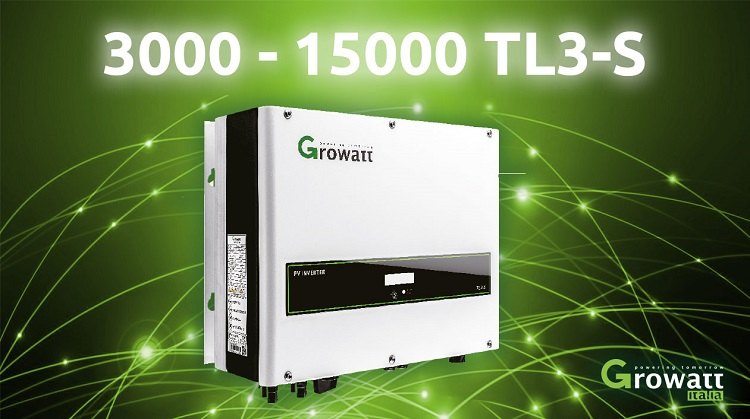 Inverter trifase Growatt 3000~15000 TL3-S