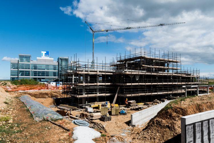 I lavori di costruzione del Digital Innovation Hub