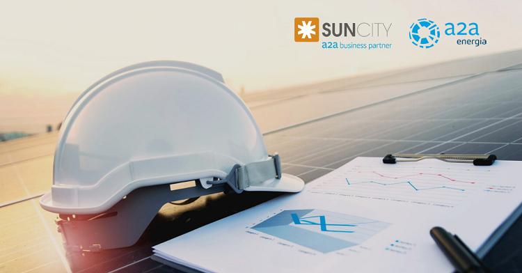 SunCity&A2A Energia unite per la ripartenza