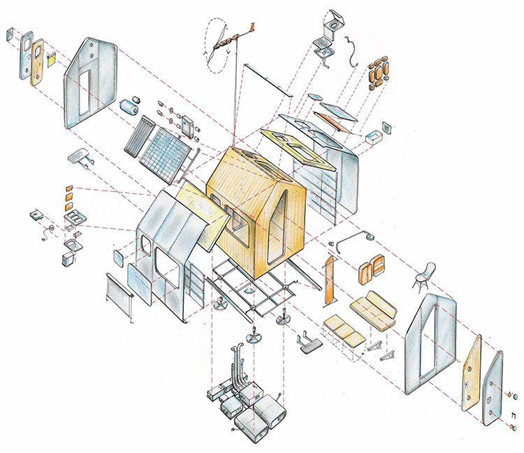 Tecnologia costruttiva Tiny House Diogene